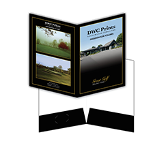 golf pocket folders
