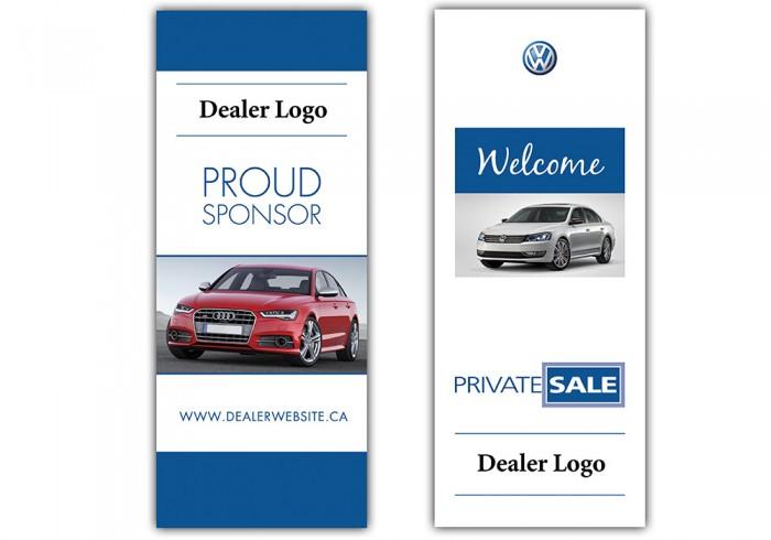 car dealer brochure