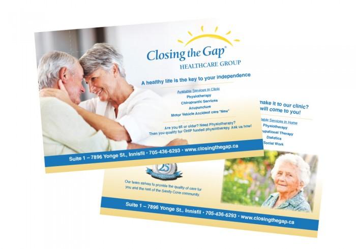 closing the gap flyer
